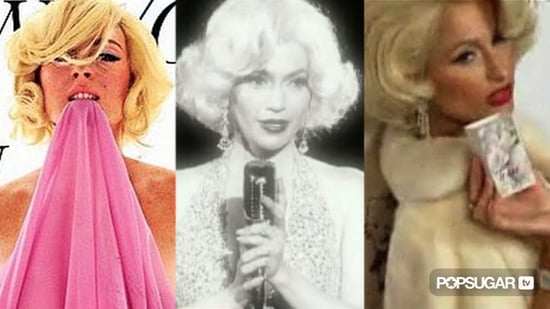 Video of Celebrities Dressed Like Marilyn Monroe 2010-08-11 19:15:27