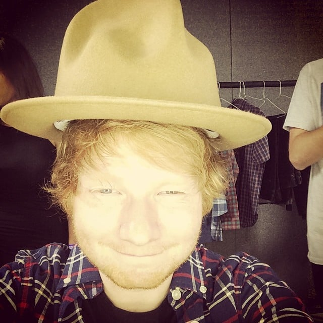 Ed Sheeran Said He Stole D A Hat On Saturday Stars Get Out And Play In This Weekend S Social Pics Popsugar Celebrity Photo 7 Included are closed hits, open hits and foot pedal closes. ed sheeran said he stole d a hat on