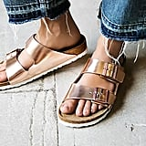 Birkenstock Arizona Metallic Sandal