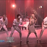 "Lady Gaga Performing ""Bad Romance"" on The Ellen DeGeneres Show in 2011"