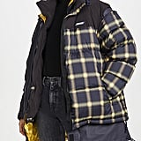 Monse Plaid Puffer