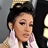 Cardi B at Grammy Awards