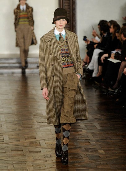 Menswear at Ralph Lauren.