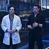 Bruce Banner and Tony Stark From The Avengers
