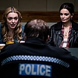 Aimee and Maeve will apparently have a brush with the cops. Uh-oh.