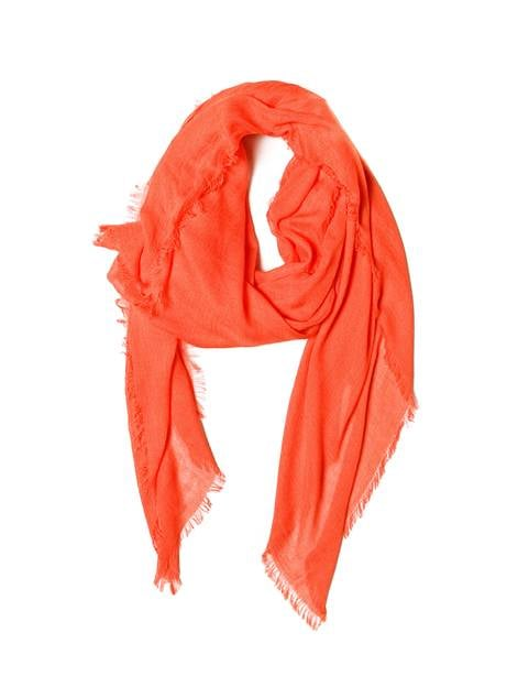 You're sure to gain brownie points when you tell your friend that 100 percent of proceeds from this Obakki signature red scarf ($29) help bring clean water to South Sudan.