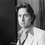 Michael Douglas posed for photographers in 1979.