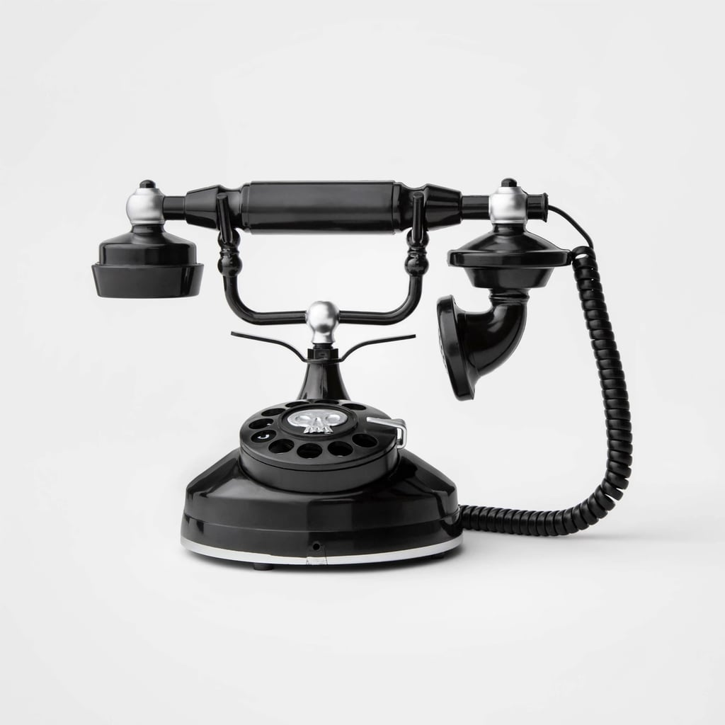Animated Spooky Victorian Style Telephone