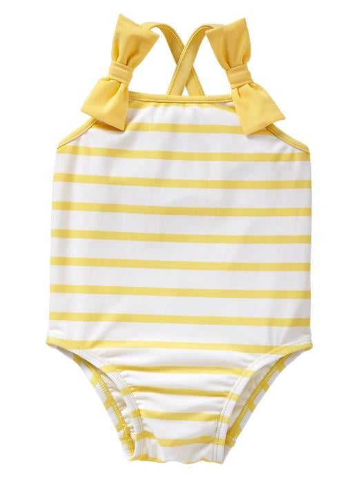 Gap Striped Bow One-Piece