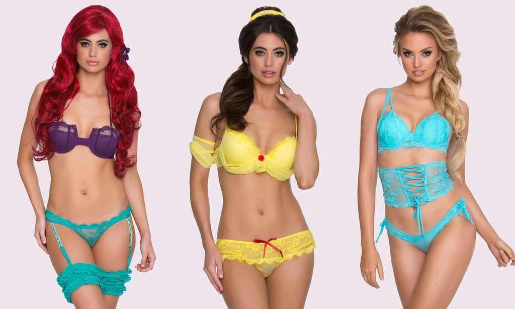 These Sexy Disney Princess Lingerie Sets Cost Less Than $40 Each