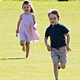 George and Charlotte Have the Sweetest Name For Charles