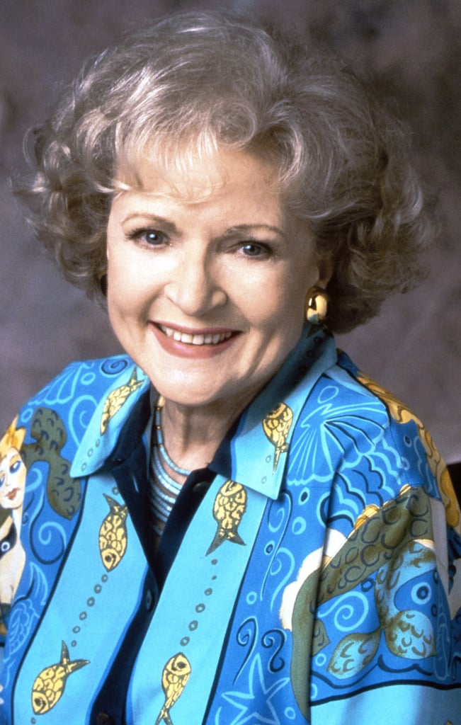 In 1995, Betty White Gave Her Curls Some Volume