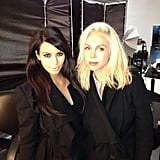 Kim Kardashian worked on a photo shoot with stylist and friend Simone Harouche. Source: Instagram user kimkardashian