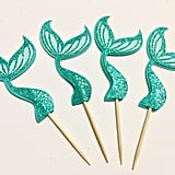 Shimmering Tail Cupcake Toppers