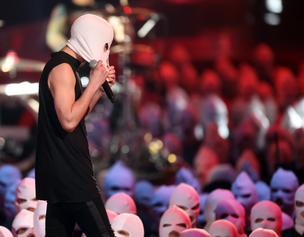 When Everyone Wore Ski Masks During Twenty One Pilots' Performance
