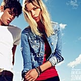 It goes without saying that a denim jacket adds instant cool to any Summer outfit. Try one with holes for a worn-in look.