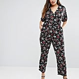 Uttam Boutique Plus Jumpsuit in Floral Print