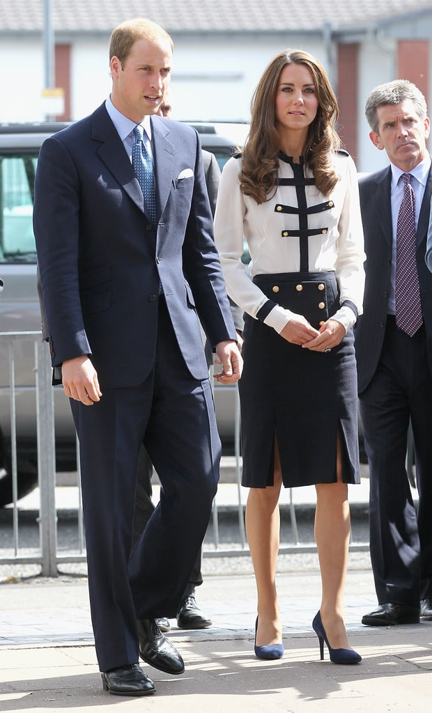 Kate Middleton and Prince William Pictures Visiting the ...