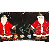 Two Santas Pillow ($30, originally $40)