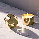 Smiley Tin Candle