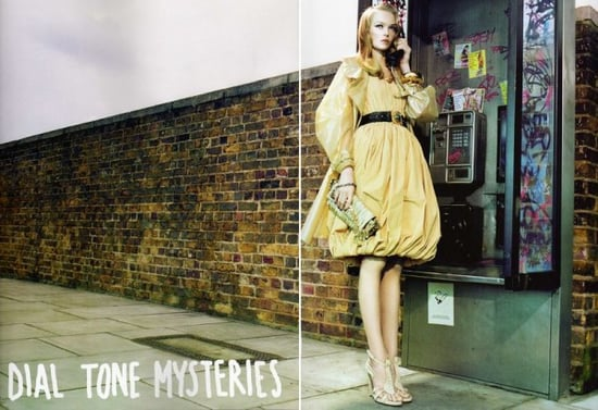 Dial Tone Mysteries Editorial for Vogue Nippon