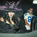 Jessica Alba leaving Kate Hudson's Halloween party.