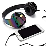 Forever 21 Iridescent Oil-Slick Headphones