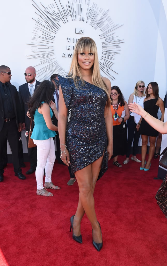 Laverne Cox at the 2014 MTV VMAs
