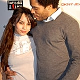 Zoë and Lenny shared this sweet moment at an NYC event in December 2006.