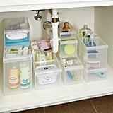 Stackable Under Sink Organisation Starter Kit