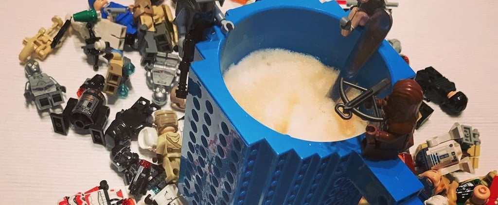 Lego-Inspired Coffee Mug