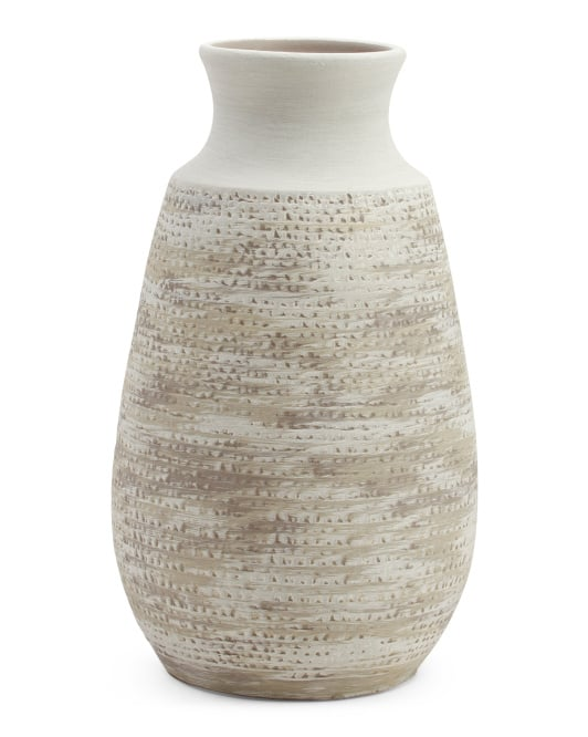 Made in Portugal Textured Vase