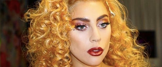 Lady Gaga's Rose Gold Eyes and New Copper Hair Scream Party Beauty Inspiration