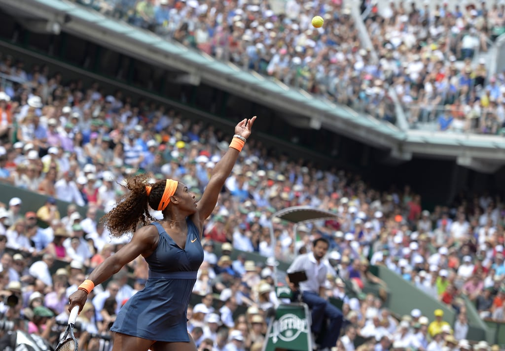 We Love the Simplicity of Serena Williams's 2013 French Open Look