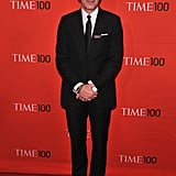 Matt Lauer stepped onto the red carpet for the Time 100 gala in NYC.