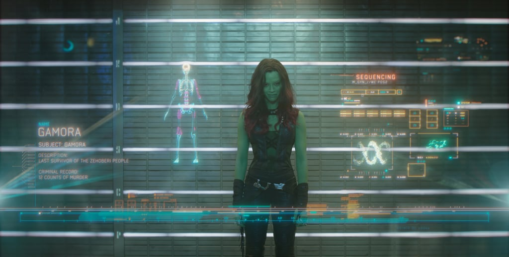 Gamora From Guardians of the Galaxy