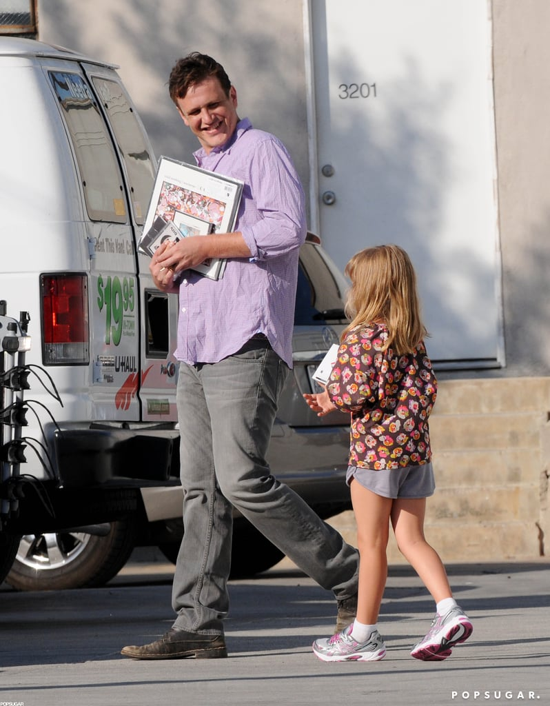 Jason Segel and Matilda Ledger had fun together during an outing in LA.