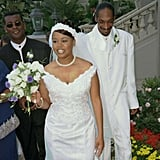 Snoop Dogg and Shante Taylor tied the knot in Marina Del Rey, CA, in August 1997.