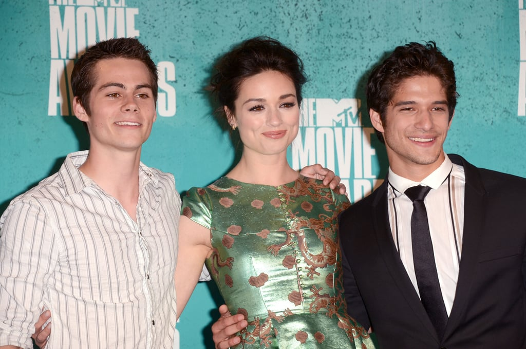Dylan O'Brien, Crystal Reed and Tyler Posey | MTV Movie ...