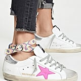 Golden Goose Superstar Sneakers With Anklet
