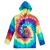 Disney Mickey Mouse Tie-Dye Hoodie T-Shirt For Kids