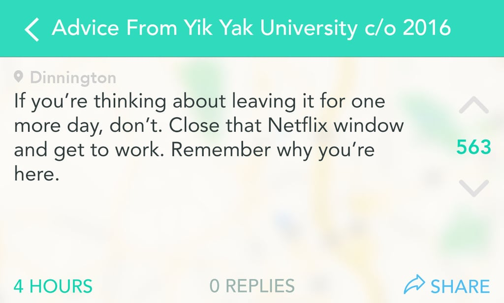 12 Pieces of Advice From Graduating Seniors That Every Freshman Should Follow
