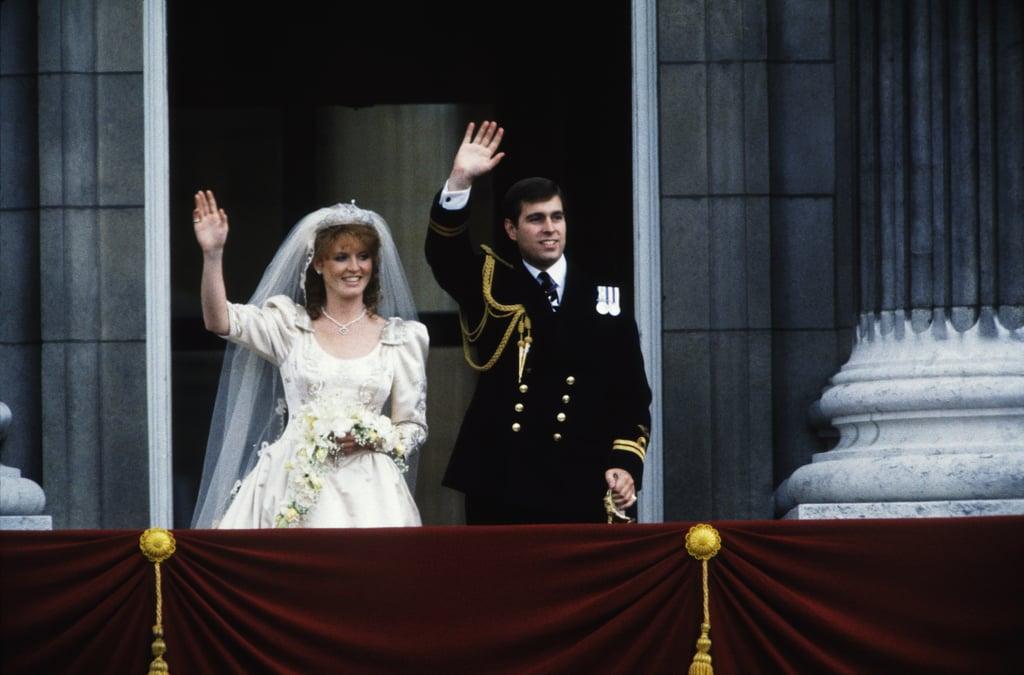 Sarah Ferguson First Wore the York Diamond Tiara on Her Wedding Day