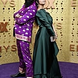 Humble the Poet and Lilly Singh at the 2019 Emmys
