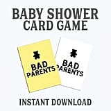 Cards Against Humanity Printable Baby Shower Game
