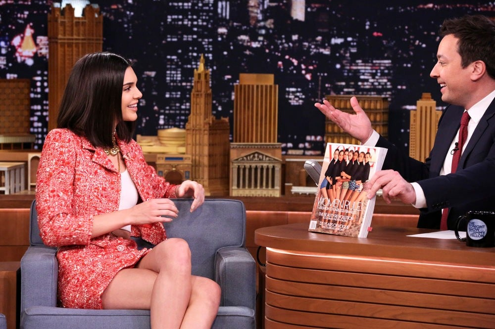 This Is the Only Time Kendall Jenner Gets Nervous Before a Runway Show