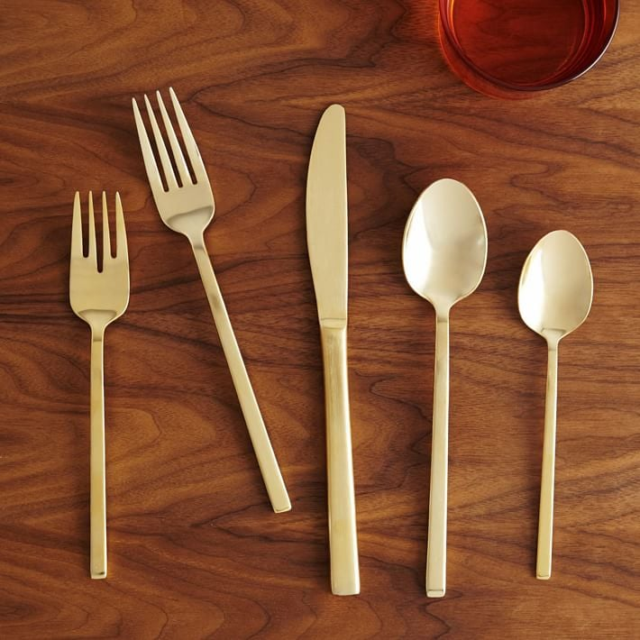 West Elm Blair Stainless Steel Flatware