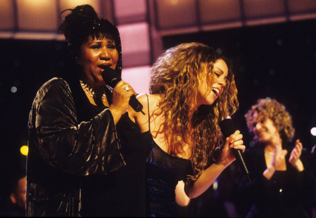 """Aretha Franklin's death has elicited heartfelt messages and tributes from celebrities, and Mariah Carey's tearjerking social media statement is sure to make you emotional. I know this firsthand, because I began tearing up while reading it myself. For those unfamiliar, Mariah has always been vocal about her love and admiration for the Queen of Soul, whose legendary music career also influenced her own. The two hit the stage together for a now-infamous VH1 Divas Live duet in 1998 — crooning Aretha's hit """"Chain of Fools"""" after only having rehearsed in her trailer hours earlier — and even became close friends. After the news of Aretha's passing broke on Thursday, Mariah shared her emotions in a series of tweets. """"You were my inspiration, my mentor and my friend,"""" she wrote. """"You showed me I could sing the songs I wanted to sing and bring God with me."""" Mariah went on to praise Aretha's """"indelible impact"""" and """"bigger than life personality, wit and humour."""" Keep reading to see Mariah's sweet tribute messages, then watch her performance with Aretha to get even deeper in your feelings today.      Related:                                                                                                           A Look Back at Aretha Franklin's Soulful 76 Years of Life — in Pictures"""
