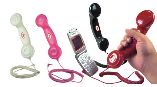 Retro Cellphone Headsets