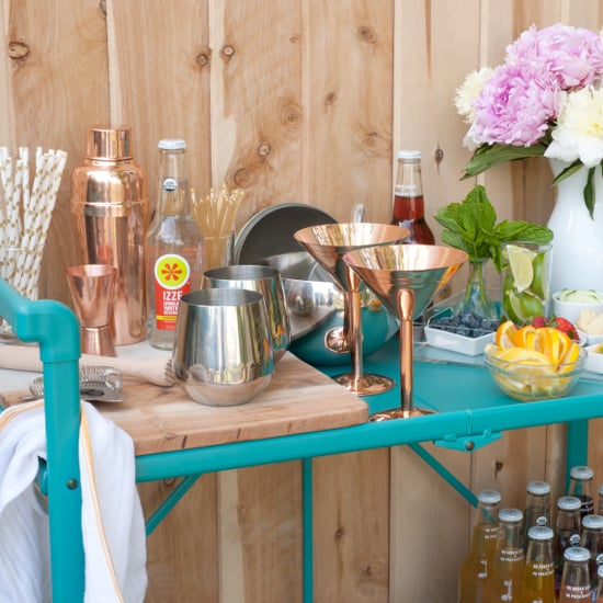 Easy DIY Drink Bar